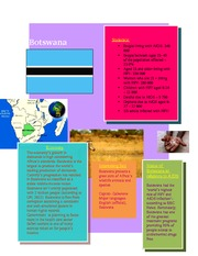 Botswanna Research- Country in Africa Homework For ENG2DO