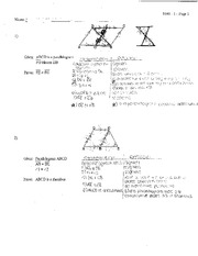Triangles Proof Review Quiz