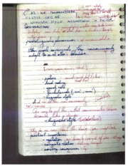 Linguistic Coordination Notes