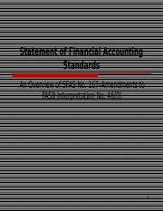 SFAS No. 167--Amendments to FASB Interpretation No. 46 (R).ppt