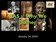 January 15, 2014 - Why We Gather