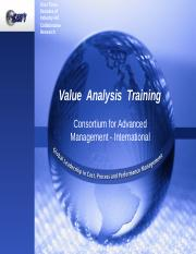 Value Analysis training-Students (1).ppt