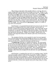 reaction paper on the movie hotel rwanda Open document below is an essay on hotel rawanda film reaction from anti essays, your source for research papers, essays, and term paper examples.