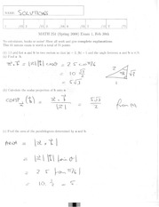 Math 2415 Midterm Version 4 and Solutions
