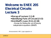 ENEE205 Fall2013 Lecture3 Fall2013