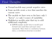 18.Int Rate Models