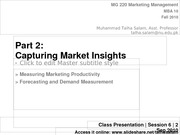 Session 6 - MG 220 MBA - 2 Sep 10