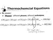 Frequent Errors in Thermochemical Equations