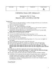 Midterm 2 (W2007) - Solutions