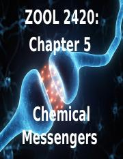 Zool 2420 Ch 5_ Chemical messengers.pptx