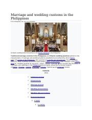 Marriage and wedding customs in the Philippines.docx