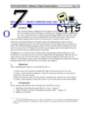Case Study CTTS   Milestone    Scope Definition Course Hero Control and Monitoring of on line trigger algorithms using gaucho