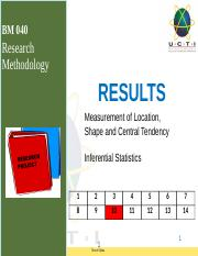 9. Results Measurement of Central Tendency v1.pptx