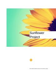 Sunflower Project.docx