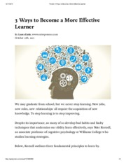 Pocket_ 3 Ways to Become a More Effective Learner