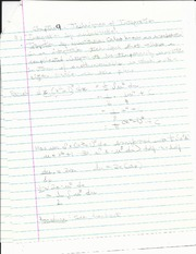 9.1 - Integration by substitution