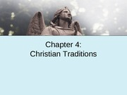 Chapter 4 Christianity