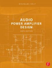 Douglas Self - Audio Power Amplifier Design - 6th edition