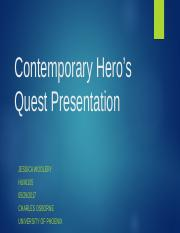 Contemporary 1 Hero's Quest Presentation.ppt