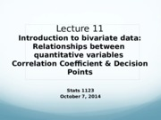 Lecture11_CorrelationCoef&DecisionPoints_Oct7