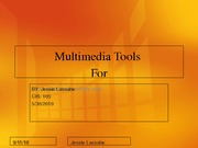 Multimedia Tools finals