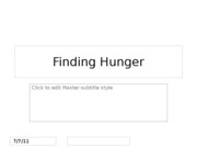 HungerResearch