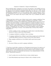Crtical Thinking Practice Standardization Problems 2