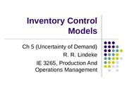 Inventory Control Models_Uncertainity.ppt