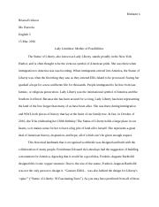 nonfiction reading test statue of liberty the statue of 8 pages statue of liberty essay