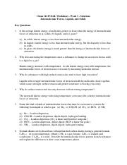 CHM116 Worksheet and Key - Chem 116 POGIL Worksheet Week 3 ...