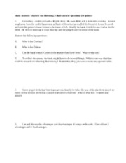 Chapter 24 Study Guide