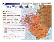 Post-War Migrations