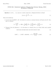 Recitation 9 Solutions