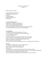 Political Science Notes 5