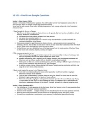 LS 101 – Final Exam Sample Questions (with Answers)