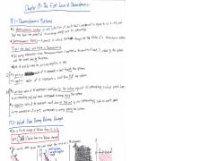 Textbook Notes Chapter 19 Sections 1-5 - The First Law of Thermodynamics.pdf