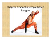 Chapter 2 Shaolin temple