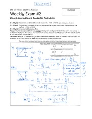 ENG 103 Winter 2014 SKR Weekly Exam 2 Solution