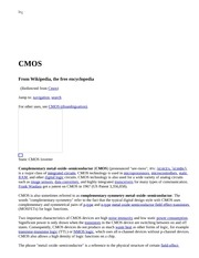CMOS - Wikipedia, the free encyclopedia
