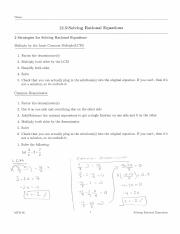 12.5 Worksheet Solutions