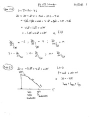 Thermal Physics Solutions CH 4-5 pg 66