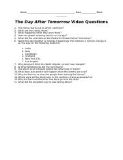 the day after tomorrow questions.docx