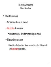 Psy4305_ELearningNotes_4_MoodDisord1_Overview MDD Dysthymia_10713.pptx