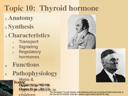 Topic 10-Thyroid Spring 2014 Handout