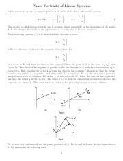 Section_4.7-Phase portraits of linear systems