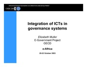 Integration of ICTs in Governance System