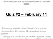 Quiz 2 - February 11 - WITH ANSWERS