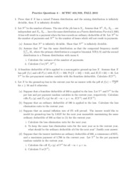 Practice Questions 4