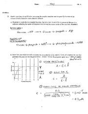 Exam 1 Version A Problem Answers