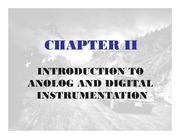 Chapter 02A - Analog & Digital Instrumentation